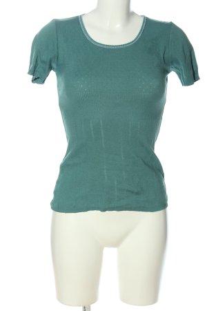 Noa Noa Kurzarm-Bluse grün Casual-Look