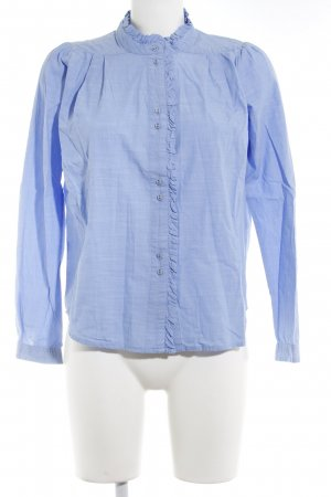 Noa Noa Long Sleeve Blouse light blue