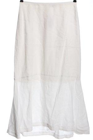 Noa Noa Gonna in lino bianco stile casual
