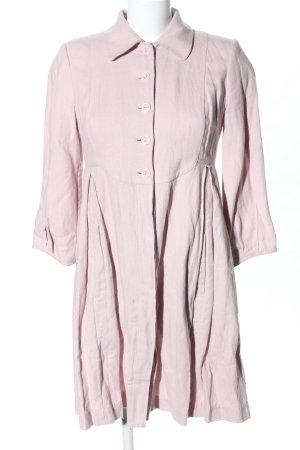 Noa Noa Geklede jurk roze casual uitstraling
