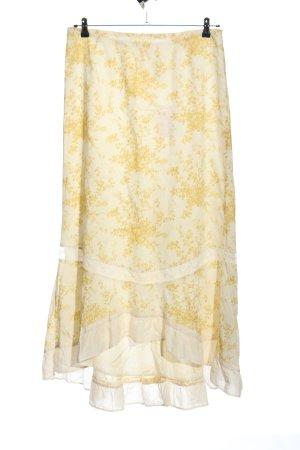 Noa Noa Maxi Skirt white-primrose allover print casual look
