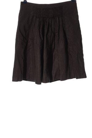 Noa Noa Minirock schwarz Streifenmuster Casual-Look