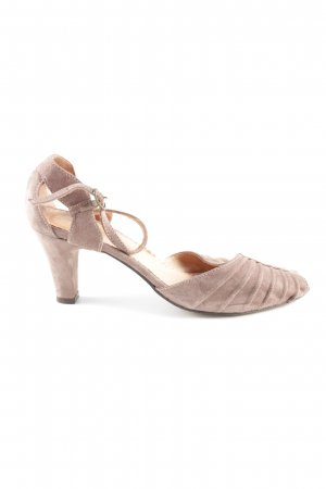 Noa Noa Strapped pumps natural white business style