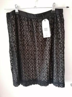 Noa Noa Lace Skirt black