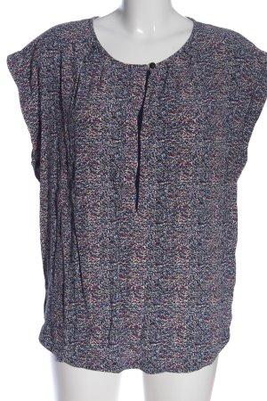 Noa Noa Schlupf-Bluse abstraktes Muster Casual-Look
