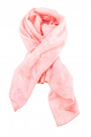 Noa Noa Panno di seta rosa stile casual
