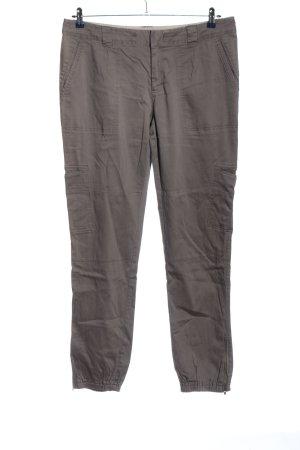 Noa Noa Jersey Pants light grey casual look