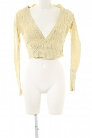 Noa Noa Knitted Bolero primrose simple style