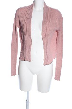 Noa Noa Strickjacke pink Business-Look