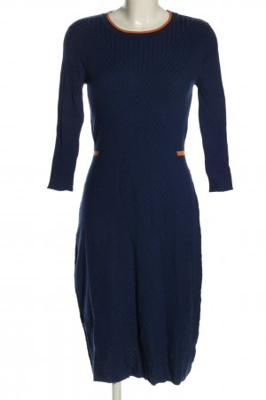 Noa Noa Strickkleid blau Casual-Look