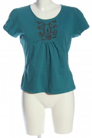 Noa Noa T-Shirt blau Casual-Look