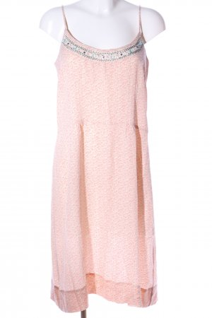 Noa Noa Trägerkleid pink abstraktes Muster Casual-Look