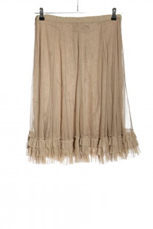 Noa Noa Tulle Skirt natural white elegant