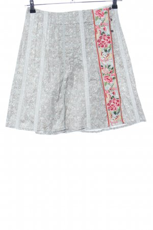 Noa Noa Wraparound Skirt abstract pattern casual look