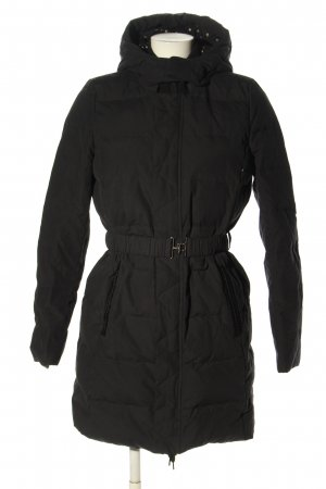 Noa Noa Quilted Jacket black quilting pattern casual look