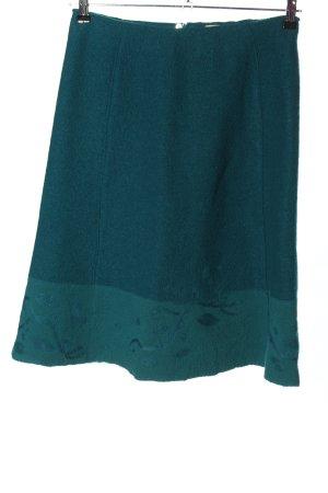 Noa Noa Jupe en laine turquoise style festif