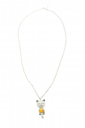 Nobel Collier Necklace silver-colored-primrose casual look