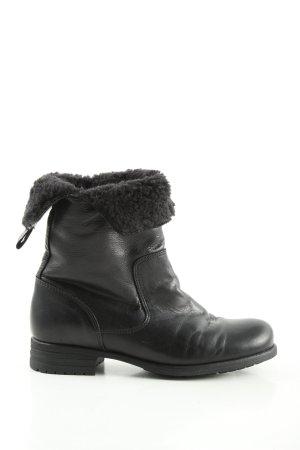 Nobrand Korte laarzen zwart casual uitstraling