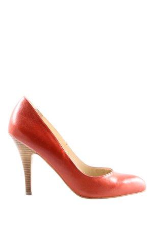 Noe High Heels hellorange Business-Look