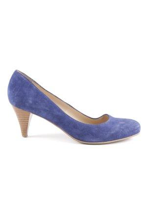 Noe High Heels dunkelblau Elegant