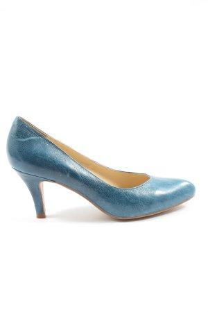 Noe Spitz-Pumps blau Casual-Look