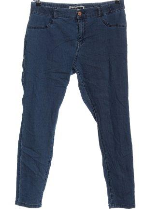 Noisy May Jeans 7/8 bleu style décontracté