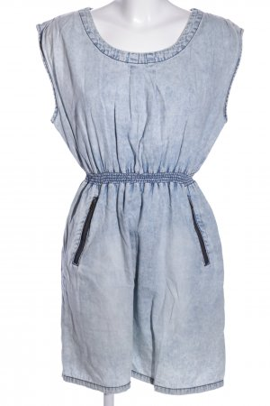 Noisy May A-Linien Kleid blau Casual-Look