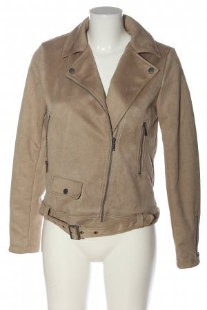Noisy May Bikerjacke creme Casual-Look