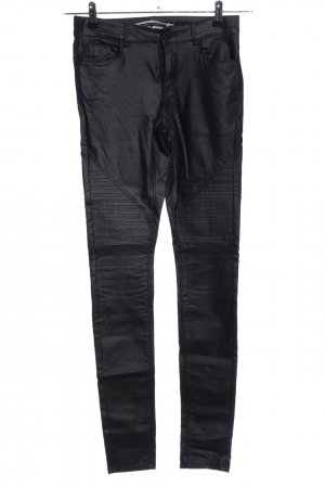 Noisy May Bikerjeans schwarz Casual-Look