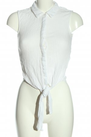 Noisy May Blouse topje wit casual uitstraling