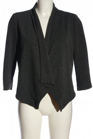Noisy May Cardigan hellgrau meliert Business-Look