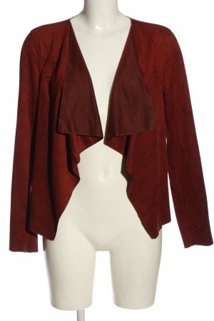 Noisy May Cardigan rosso stile casual