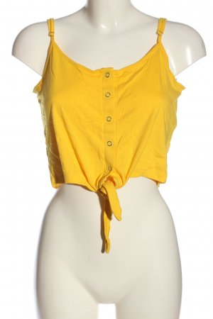 Noisy May Cropped Top primrose casual look