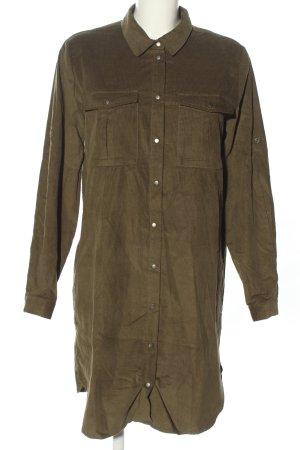 Noisy May Abito blusa camicia cachi stile casual