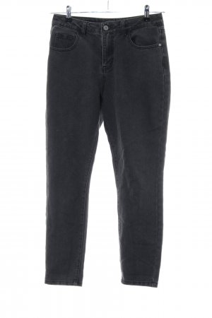 Noisy May Hoge taille jeans zwart casual uitstraling