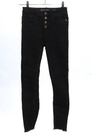 Noisy May High Waist Jeans schwarz Casual-Look