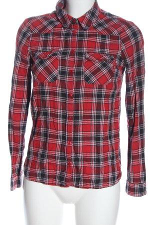Noisy May Koszula w kratę Wzór w kratkę W stylu casual