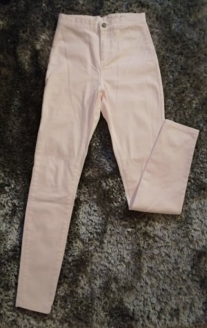 Noisy May High Waist Trousers pink