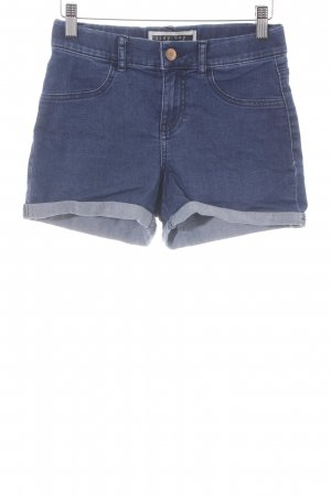 Noisy May Hot Pants blau Casual-Look