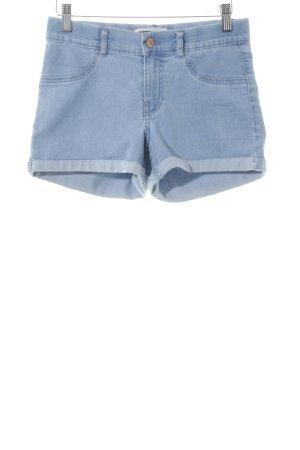 Noisy May Hot pants azzurro stile jeans