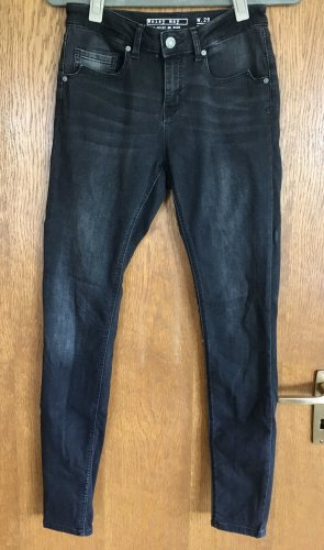Noisy May Skinny Jeans black-anthracite