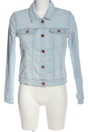 Noisy May Veste en jean bleu style décontracté