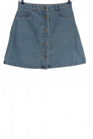 Noisy May Jeansrock blau Casual-Look