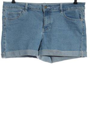 Noisy May Jeansshorts blau Casual-Look
