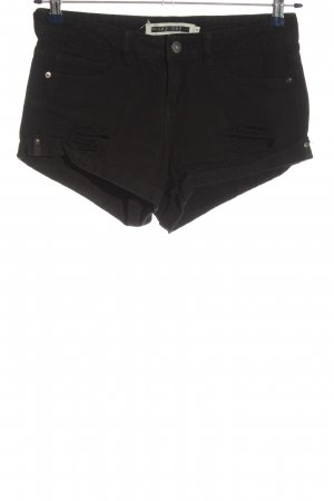 Noisy May Jeansshorts schwarz Casual-Look
