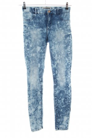 Noisy May Jeggings blau Casual-Look