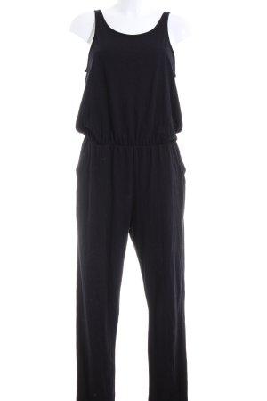 Noisy May Jumpsuit schwarz schlichter Stil