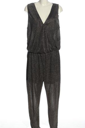 Noisy May Jumpsuit schwarz-silberfarben Casual-Look