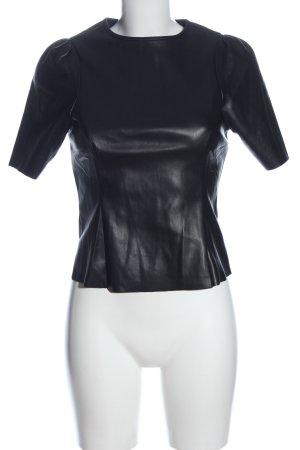 Noisy May Camicetta a maniche corte nero stile casual