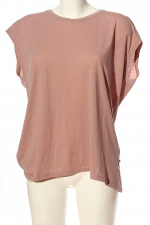 Noisy May Kurzarm-Bluse pink Casual-Look